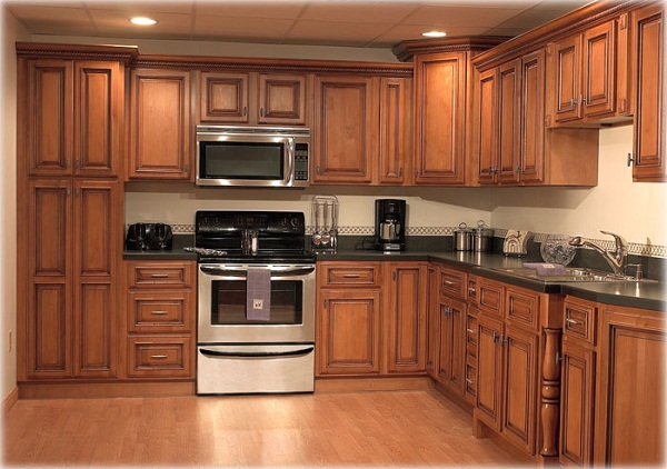 Solid Wood Cabinets - Little Palace